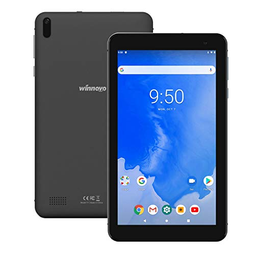 tablet 7 pollici wifi Tablet 7-Pollici Android 9.0 WiFi- Winnovo 2GB RAM Quad Core MT8163 IPS Display Bluetooth 4.0 Dual Camera GPS FM Certificato Google (Nero)