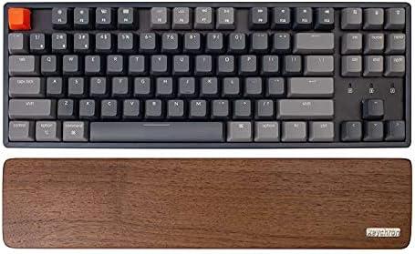 Wooden Palm Rest for Keychron K8/C1 Bluetooth Mechanical Keyboard