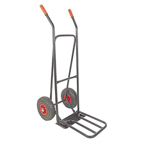 RAVENDO ST150 NG Profi Sackkarre (Transportkarre mit Luftrad, Handkarre mit 150kg Maximalgewicht)