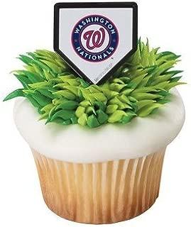 MLB Washington Nationals Cupcake Rings - 24 ct