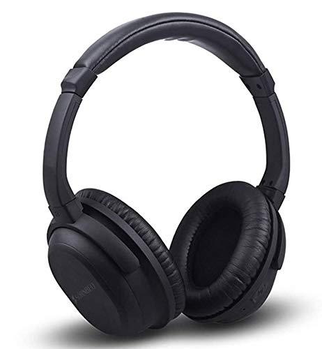 SWETIY Auriculares Bluetooth Inalambricos De Diadema Cascos Plegables, Casco Bluetooth con Sonido...