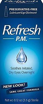 Allergan Refresh P.M Lubricant Eye Ointment,.12oz,2 Count