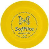 Hyperflite K-10 Pup SofFlite Dog Disc 7 Inch, Ultra-Soft for Canines with Sensitive Mouths, Best Flying, Dog Frisbee, Competition Grade, Outdoor Flying Disc Training