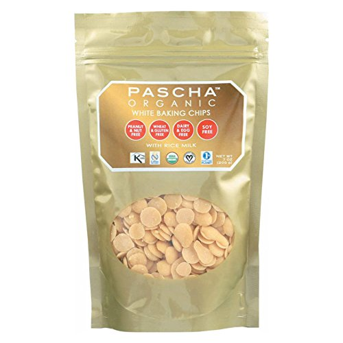 Organic Rice Milk Chocolate Baking Chips; White Chocolate , Pack of 8