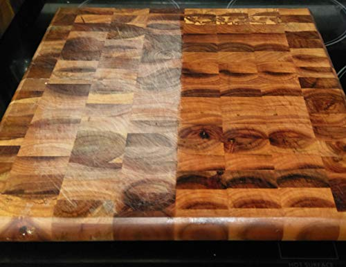 Wood Butter- 8 ounces - Butcher Blocks, Cutting Boards, and Utensils - Naturally Prevents Bacteria Growth on Wood - Veteran Owned