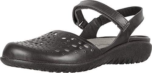 NAOT Footwear Women's Arataki Black Raven Lthr Maryjane Flat 9 M US