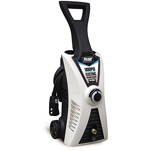 Pulsar Products 1,800 PSI Two Brushes, PWE1801K Electric Pressure Washer