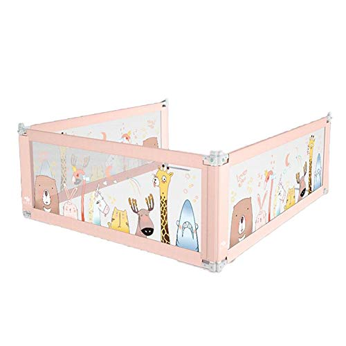 Best Price MUMA-Bed Rails Three-Sided Bed Guardrail/Folding Bed Railing Child Safety Handrail Bed Ra...
