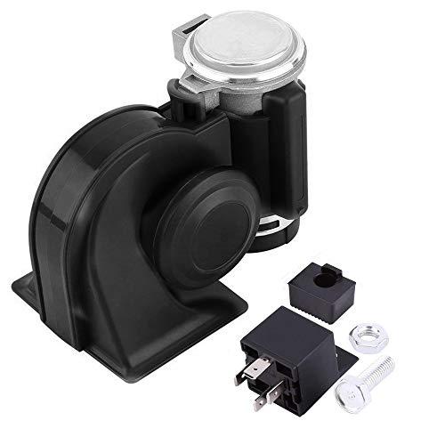 SoundOriginal 12Volt Loud Car Air Horn Big Truck Horn 150db with Automotive Relay Electric Horn for Truck Car Motorcycle (Black)
