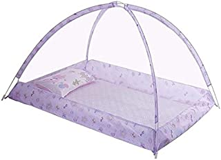 Baby Products Spring and Summer Endless Children's Mosquito Net Baby Dome Free Installation(Purple) Baby Products (Color :...