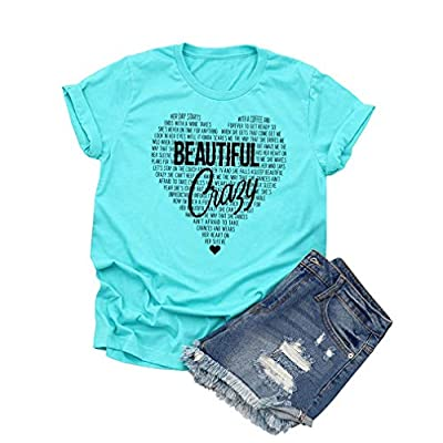 Women's Shirts Cute Graphic Tees Short Sleeve Tops Blouse