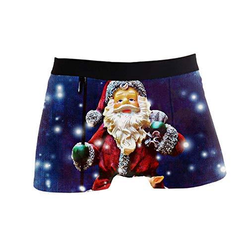 Winne Bag Calzoncillos bóxer para Hombre, Calzoncillos sexys de Navidad de Papá Noel Calzoncillos Calzoncillos XL