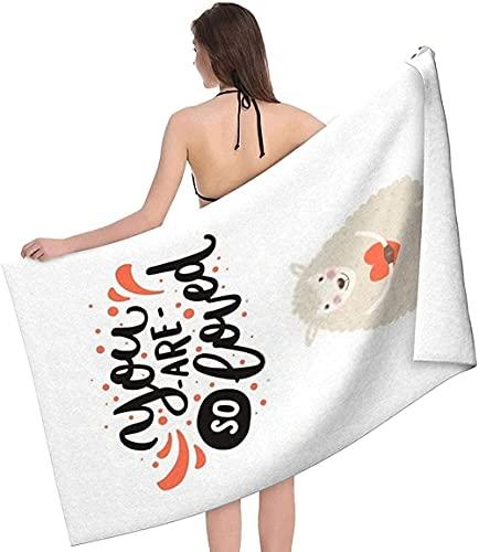 LUYIQ Toalla de Playa Grandes de Antiarena de Microfibra para Hombre Mujer, Linda Mano de Animal -150x70cm, Toallas Baño Secado Rapido para Piscina, Manta Playa, Toalla Yoga Deporte Gimnasio