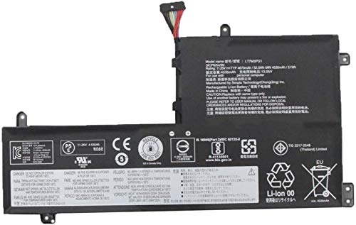 ASKC L17M3PG1 Laptop Batería para Lenovo Legion Y530-15ICH Y7000 2019 1050 Y7000-2019-PG0 Y540-15IRH-PG0 Y540-17IRH-PG0 Y7000P Series Notebook L17L3PG1 L17M3PG3 L17C3PG1 11.25V 52.5Wh