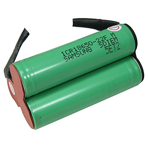 Trade-Shop Premium Li-Ion Akku-Zellen zum Selbsteinbau 10,8V / 2200mAh für Bosch PMF 10.8 LI, PSM 10.8 LI, PSR 10.8 Li-2, KEO, AGS 10.8, ASB 10.8, 2 607 336 863, 2 607 336 864