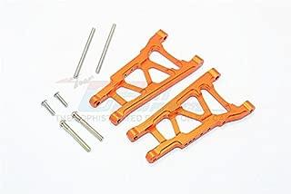 GPM Traxxas Telluride 4X4 / Deegan 38 Fiesta ST Rally Upgrade Parts Aluminum Front/Rear Suspension Arm - 1Pr Set Orange