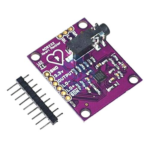 AD8232 Single Lead Heart Rate Monitor ECG Developemt Kit for Arduino Compatible DIY Kit Electronic PCB Board Module