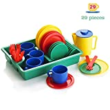KiddyPlay - Servizio stoviglie per Bambini - 29 Pezzi