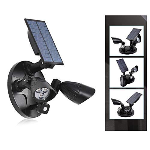 Jesus Love You LED-wandlamp voor de tuin, met geïntegreerde dubbele kop, met sensor voor zonne-lichaam, wit licht 6000 K