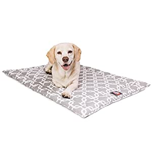 24″ Links Gray Crate Dog Bed Mat By Majestic Pet Products