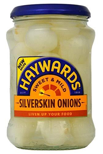 Haywards Sweet and Mild Silverskin eingelegte Zwiebeln, 400 g