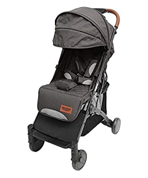 Keenz Air Plus Lightweight Travel Stroller – 2 in 1 Baby & Pet Stroller  Includes Cup Holder Bumper Bar Activity Tray All-Weather Cover Mosquito Net and Travel Bag