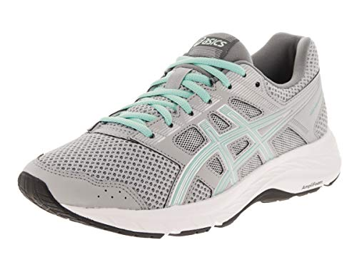 ASICS Women's Gel-Contend 5 Running Shoes, 8M, MID Grey/ICY Morning