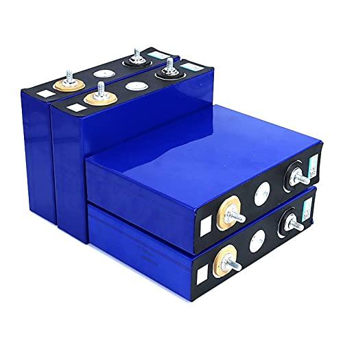 LONGRING Paquete de batería de fosfato de Hierro de Litio con células de Litio de células Litio de 3,2 V 100AH LIFEPO4 para 12V 24V 48V 100AH Barco Solar RV
