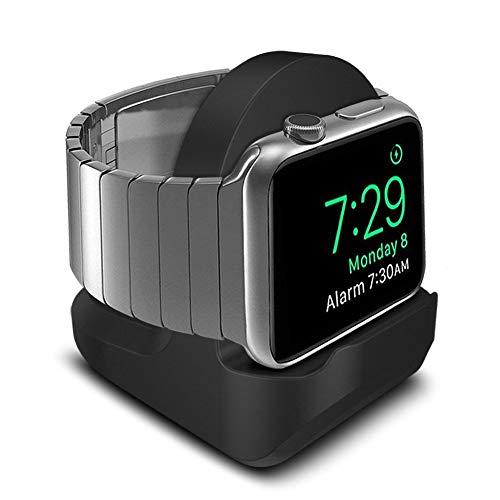 Timotech Soporte Compatible con Apple Watch, Puerto de Carga Ranura de Gestión de Cable Integrada,