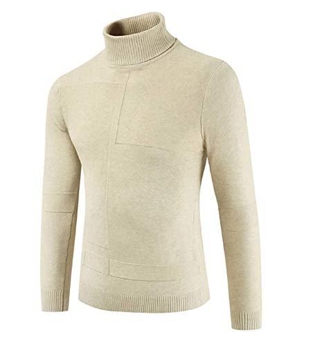 ADELINA coltrui mannen lange mouwen strak fijn gebreide vesten mode Slim Fit modieuze Completi Warm Winter trui zwart wit grijs Khaki groen rood bruin gebreide trui