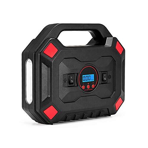 Mini Bomba Compresor Inflador De Aire Batería Digital Inteligente - Bomba Eléctrica Inflador Infladora De Neumático Aire Patinete, Compresor Bomba Inflador Electrico Suelo Bicicleta Manometro