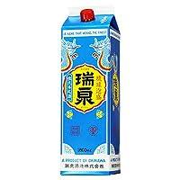 泡盛 瑞泉1800ml紙パック30度 瑞泉酒造