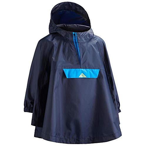 Quechua Kinder-Poncho Berg 4-6 Jahre MH100 blau
