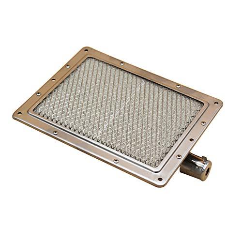 Hsmin Accesorios Quemador De Infrarrojos Cerámica Placa Quemador Calentador Componente De Reemplazo 220 * 170mm Estufa De Gas Licuado Quemador De Estufa De Gas