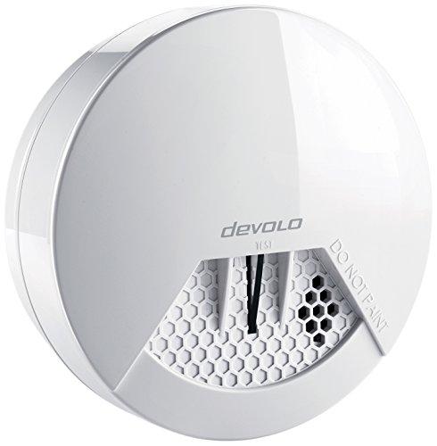 devolo Home Control Funk Rauchmelder (Funk Brandmelder, vernetzt, Z-Wave Hausautomation,...