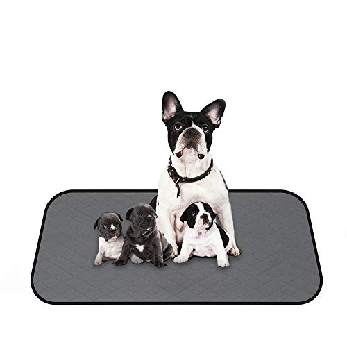 Coralov Washable Dog Pee Pads for Dods - Reusable Whelping Pads, Waterproof Dog Mat Non-Slip Puppy...