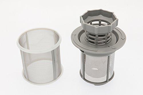 daniplus 3-teiliges Siebset passend für Spülmaschine Bosch Siemens 427903, Bauknecht, Whirlpool 481248058111