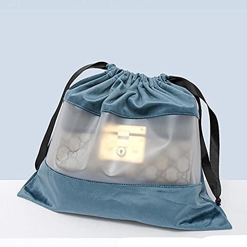BAIGM Pequeñas bolsas de regalo ligeras Bolsas de terciopelo con cordón bolsa de polvo Bolsas de joyería para embalaje Boda fiesta cumpleaños Viajes Bolsas de almacenamiento