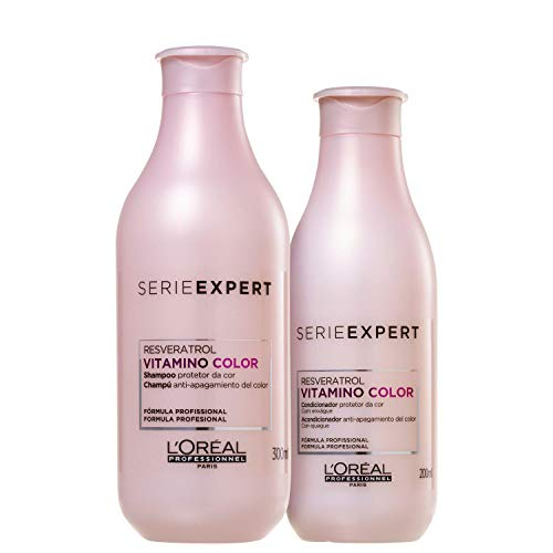 L'Oréal Professionnel Serie Expert Vitamino Color A-OX Haarshampoo zu 300 ml, Conditioner zu 200 ml, 2er-Set