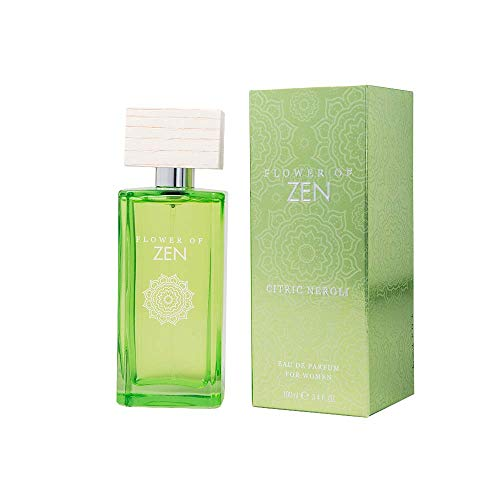 Flower of Zen Citric Neroli, Eau de Parfum, natürliches Spray, 100 ml