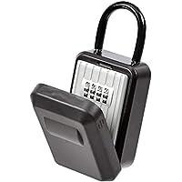 AmazonBasics Portable Key Storage Box with Waterproof Cover (Combination Lock)
