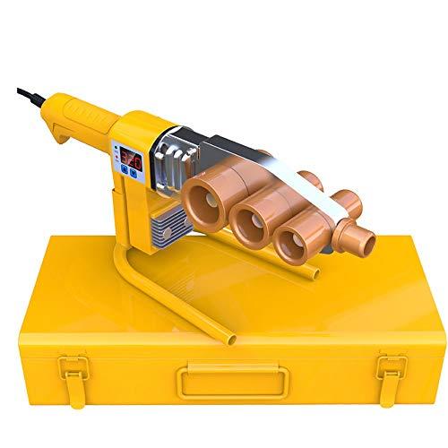 Kunststoffrohr-Schweißmaschine mit Digitalanzeige, 220V 800W Sockel-Schweißgerät mit Toolbox for Φ20-32mm PPR, PE, PB-Rohr-Schweiß