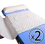 OrtoPrime Pack 2 Empapador Cama Super Absorbente 4,65 Litros m2-400 Lavados -...