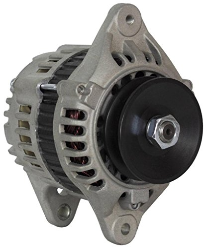 Rareelectrical ALTERNATOR COMPATIBLE WITH YANMAR MARINE ENGINE 4TNE84 4TNE88 DIESEL LR140-714B 119836-77200-2 119836-77200-3 219210