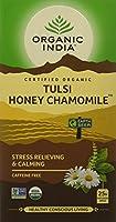 Organic India Tulsi - 18 Tea Bags (Honey Chamomile) by Organic India