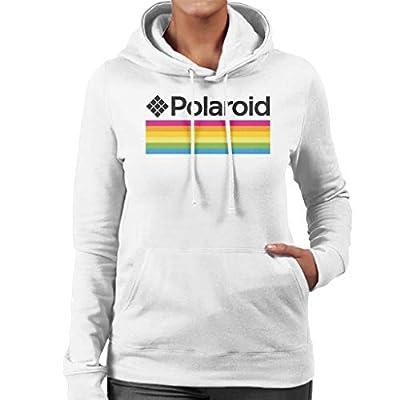 Women's Official White Polaroid Logo Hoodie