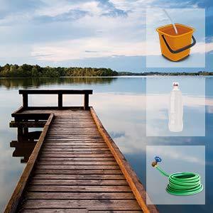WORX WG620E.4, idropulitrice portatile a batteria da 20 V, idroshot WG620E.4, 2,0 Ah, Powershare, multi ugello a spruzzo, lunga durata, tubo da 6 m, batteria e caricatore da 18 V
