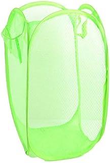 MJY 29X29X47Cm Panier à linge de grande capacité, panier à fil net, panier à fil, organisateur de salle de bain pour panie...