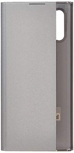 Samsung Clear View Cover (EF-Zn975) für Galaxy Note10+ | Note10+ 5g, Silber