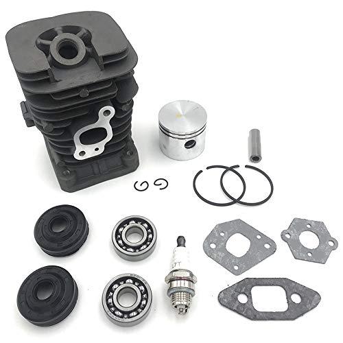 Kamenda Kit de rodamientos de bolas ranurados para motosierra de 41,1 mm para Partner 350 Partner 351